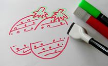 Rewritable Paper uses Whiteboard Marker_image